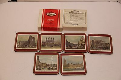 Pimpernel Coasters England 19th Century London Trafalgar SQ Westminster Abbey