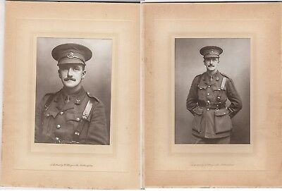 Two Portraits of a Soldier Cheshire Regiment Undated