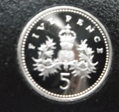 1982 5P Larger proof  Coin. Not released. Low Mintage of Proof. Excellent