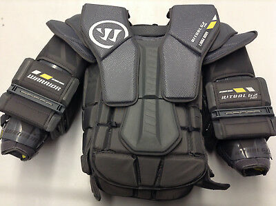 Warrior Ritual G2 Pro Chest Arm Protector Goalie Pro Custom Large Medium Arms