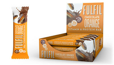 Fulfil Protein energy Bars Chocolate Orange x 15 x55g