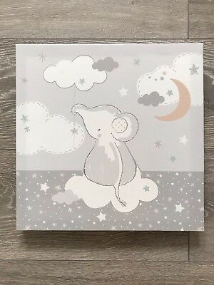 Lullaby Moon - LED Wall Canvas