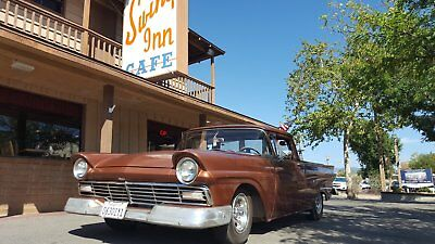 1957 Ford Ranchero base 1957 Ford Ranchero