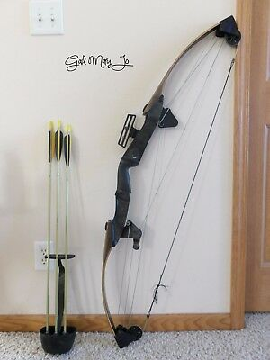 "Vintage Bear Polar Ltd Right Hand Compound Bow•about 55# Pull•29"" Draw•51"" O/a"