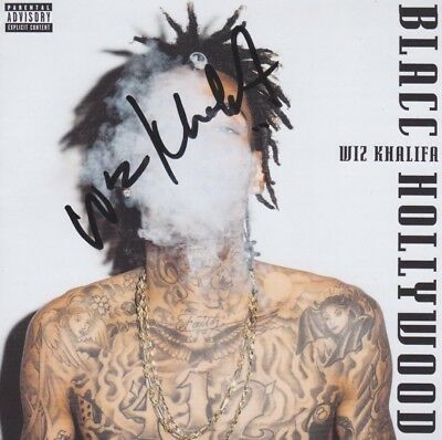 WIZ KHALIFA CD Album Booklet IN PERSON signiert Autogramm signed Autograph RAR