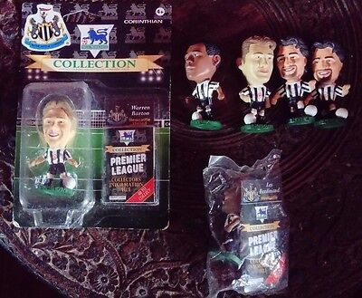 X6 Newcastle United Joblot Collection Loose & Carded Corinthian Football Figures