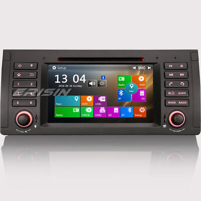 """7"""" HD Reproductores DVD for BMW E39 E53 M5 X5 GPS DVR TDT 3G Radio SWC 7161BGS"""