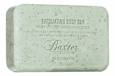 Baxter of California Exfoliating Body Bar 7 oz. Sealed Fresh