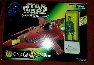 Star Wars Expanded Universe Concept Series Bespin Cloud Car!
