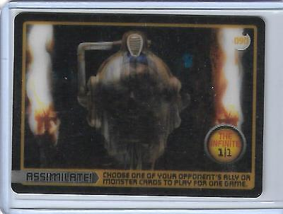 Doctor Who Monster Invasion - 090 The Infinite 1/1  ----- 1/1000 Sealed Packs