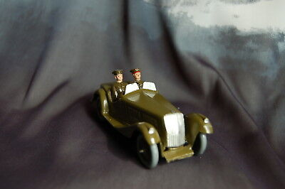 Britains Vintage Staff Car, General & Driver No.1448