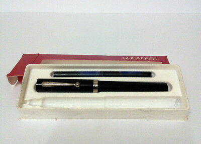 Sheaffer No Nonsense Black Fountain Pen Medium