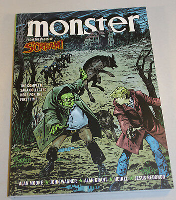 Monster GN Alan Moore, John Wagner From Scream Comic Full Story In One Volume NM