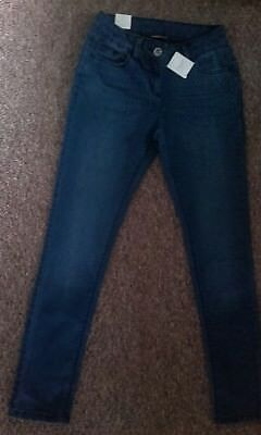 NEXT GIRLS BLUE DENIM JEANS AGE 12 YEARS Brand New with Tags