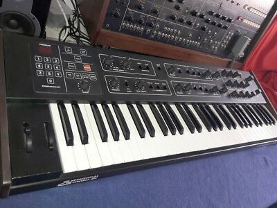 SEQUENTIAL SCI PROPHET 600 rare vintage polyphonic synthesizer as-is