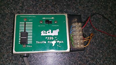 Eda #225 Throttle Power Pack - Transistorised - Track Cleaner HF1 - Model Train