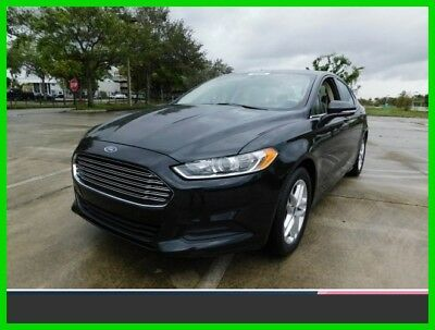 2014 Ford Fusion SE 2014 SE Used Certified 2.5L I4 16V Automatic Front Wheel Drive Sedan