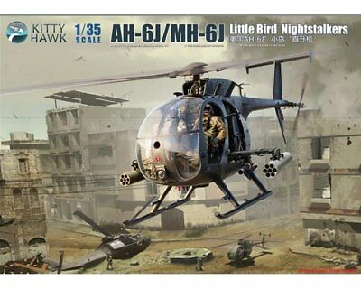 NEUHEIT ! KITTY HAWK 50003 AH-6J/MH-6J Little Bird Nightstalkers 1/35 ! MAßSTAB