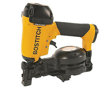 "Bostitch 15 Degree Coil Roofing Nailer 3/4"" to 1-3/4"" RN46-1 Pneumatic NEW"