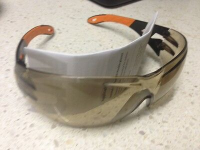 UVEX Safety Glasses.Pheos 9192 - 307. Box of 5 Pairs. Tinted. German Made.