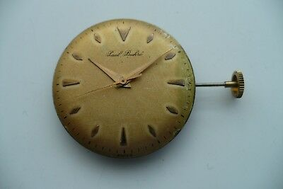 Paul Buhre Vintage Wrist Watch Fef 350 Movement Spares Or Repair
