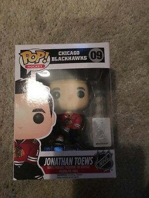 NHL Jonathan Toews Funko Pop Chicago Blackhawks