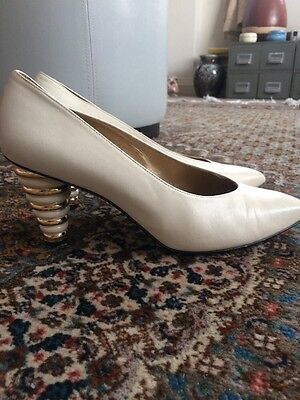 Quirky Russell And Bromley Vintage Court Shoes