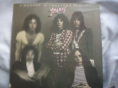 SPARKS Woofer In Tweeter's Clothing original LP Bearsville UK G+