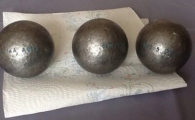 Boules De Pétanque MS 2210 (75-680gr) Anti Rebonds