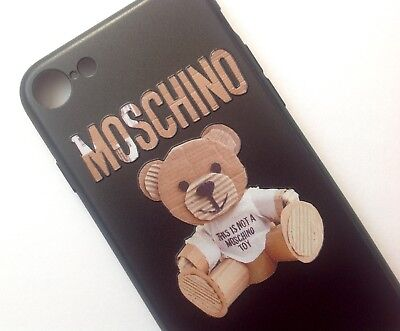 Teddy Bear Moschino Logo Phone Case Cover for iPhone 7Plus/8 Plus