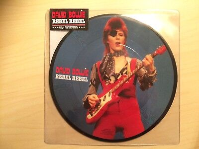 "David Bowie - Rebel Rebel - 7"" Vinyl - UNOPENED - Picture Disc - Limited Edition"
