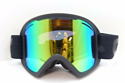 Oakley O Frame Black/Green Ion Snow Goggles <>Kr-118