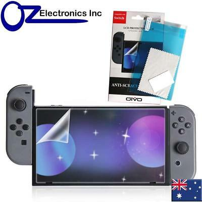 Nintendo Switch 9H LCD Protective Film Anti Scratch High Transparency NEW AUS