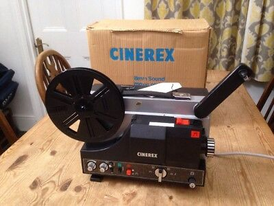 Vintage 8mm Cinerex Film Projector Model SU-510 in Original Box