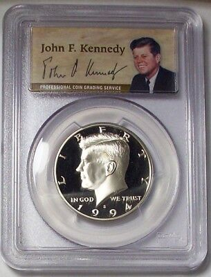 1994-S Kennedy Half Dollar Proof PCGS PR70DCAM Deep Cameo