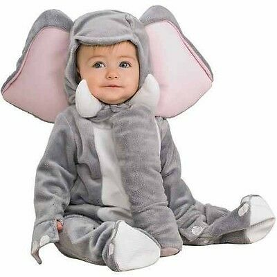 BABY GRAY Elephant Costume BNIP Size: Infant 6-12 Months COMPLETE COSTUME NEW