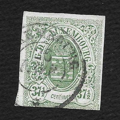 Luxembourg N°10 Luxemburg Timbre Stamp Briefmarke