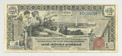$1 Series 1896 Educational Silver Certificate, high grade and no problems