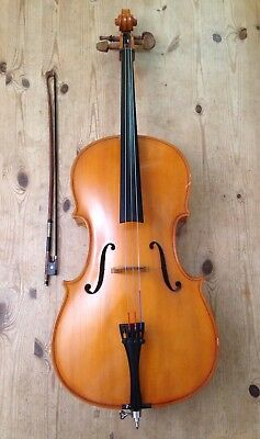 Andreas Zeller 1/4 Cello with Bow - Made in Romania for Stentor