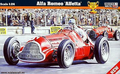 Alfa Romeo Alfetta 1950 F1 winner, plastic model kit 1/24 ex. Smer