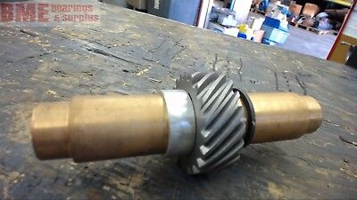 Helical Gear On Shaft 20 Teeth,