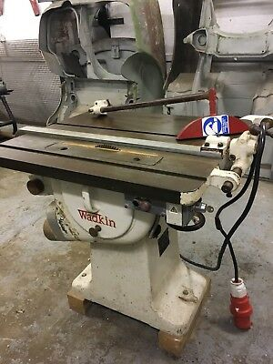 Wadkin Table Saw + Extractor