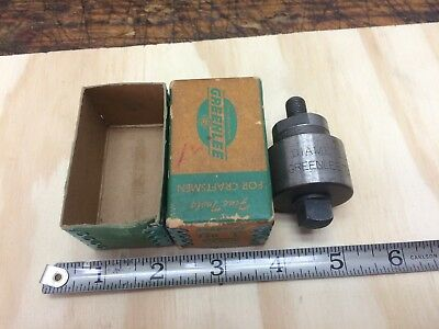 "Greenlee 1"" Diameter Radio Chassis Punch Model 730"