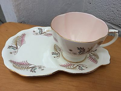 1950's Foley Cup and Biscuit Saucer