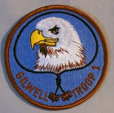 """Woodbadge """"Eagle"""" Gilwell Troop 1 Patch  Mint  28"""