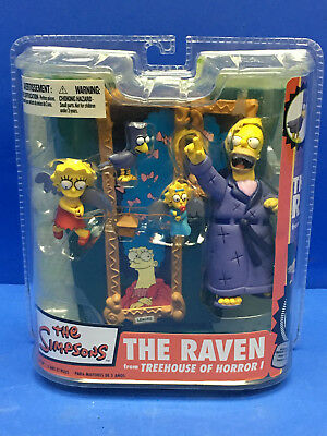 The Simpsons Tree House of Horror 1 The Raven Figure McFarlane Toys Rare NEW