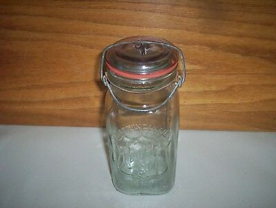 Vintage Made in Canada The Perfect Seal Wide Mouth Adjustable Fruit Jars Sealer