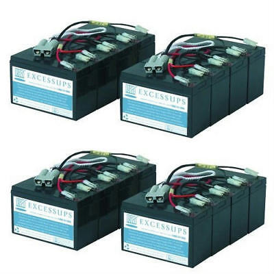 New Replacement Battery Pack For Apc Dell Smart-Ups 5000Va Rm 7U Dl5000R5Xltfmr