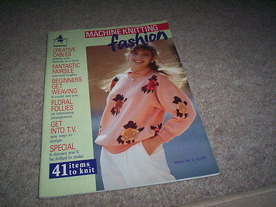 Brother Machine Knitting Fashion -  Issue 2 - Good Condition
