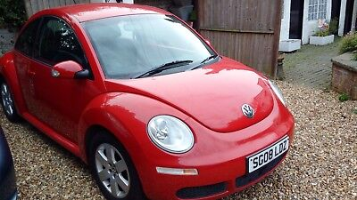 Volkswagen Beetle  LUNA- 2008 Bright Red very low miles and excellent condtion